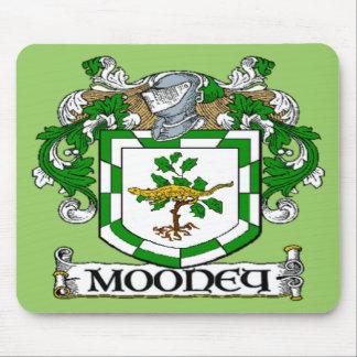 Cojín de ratón del escudo de armas de Mooney Tapetes De Ratón
