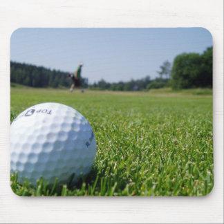 Cojín de ratón del espacio abierto del golf tapetes de raton