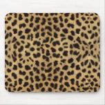 Cojín de ratón del estampado leopardo alfombrilla de ratones