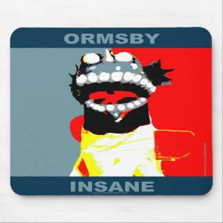 Cojín de ratón del estilo de la campaña de Ormsby Tapete De Ratones