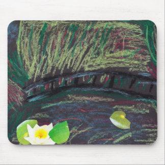 Cojín de ratón del estilo de Monet Tapetes De Ratón