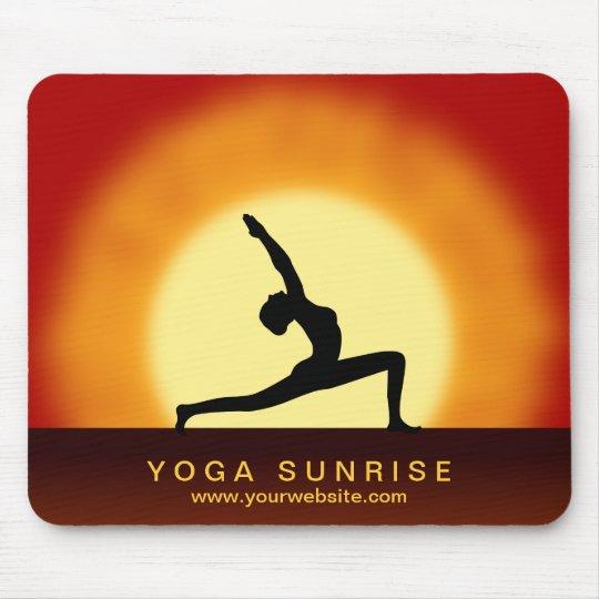 Cojín de ratón del estudio de la yoga de la salida mousepad