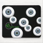 cojín de ratón del eyecare 4S Tapetes De Ratones