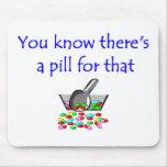 Cojín de ratón del farmacéutico alfombrillas de ratones