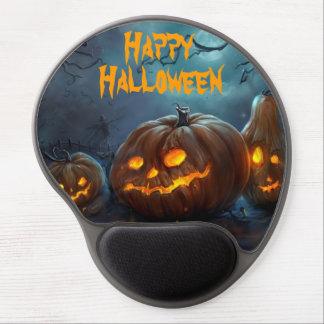 Cojín de ratón del feliz Halloween Alfombrillas Con Gel