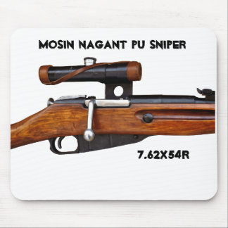 ¡Cojín de ratón del francotirador de Mosin Nagant Alfombrilla De Ratones