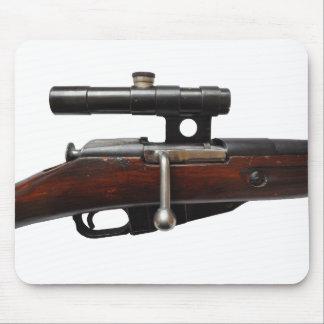 ¡Cojín de ratón del francotirador de Mosin Nagant Tapete De Ratón