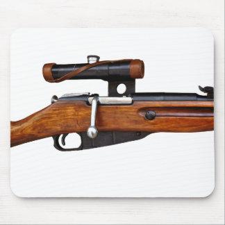 ¡Cojín de ratón del francotirador de Mosin Nagant Tapete De Ratones