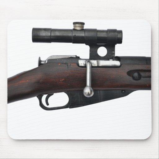 ¡Cojín de ratón del francotirador de Mosin Nagant Alfombrilla De Ratón