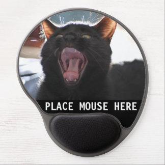 Cojín de ratón del gatito alfombrilla de raton con gel