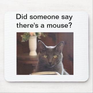 Cojín de ratón del gato alfombrilla de raton
