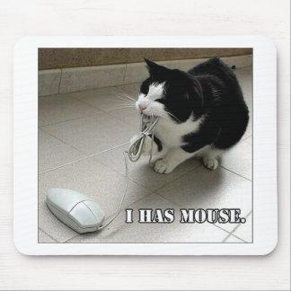 Cojín de ratón del gato alfombrillas de ratones
