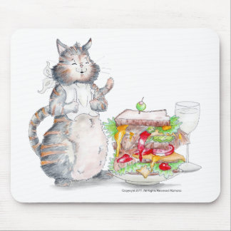 Cojín de ratón del gato de Appitet del Bon Tapete De Ratón