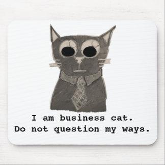 Cojín de ratón del gato del negocio mousepads