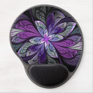 Cojín de ratón del gel de Chanteuse Violett del La Alfombrillas Con Gel
