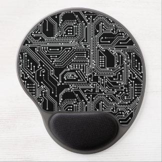 Cojín de ratón del gel de la placa de circuito del alfombrillas con gel