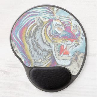 Cojín de ratón del gel del ratón del tigre del alfombrilla gel