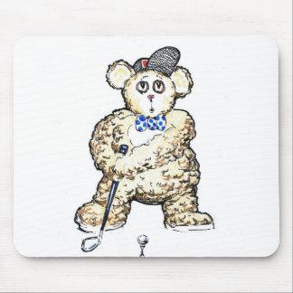 Cojín de ratón del golf de los juegos de Ted Alfombrillas De Raton