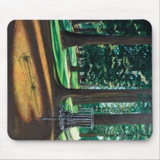 Cojín de ratón del golf del disco mouse pads