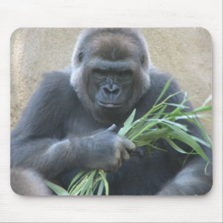 Cojín de ratón del gorila del Silverback Alfombrillas De Ratones