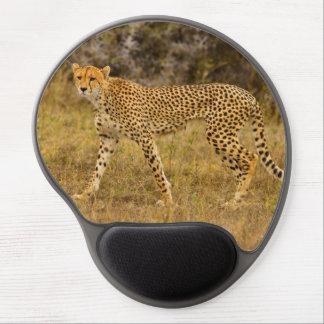 Cojín de ratón del guepardo alfombrilla para ratón de gel