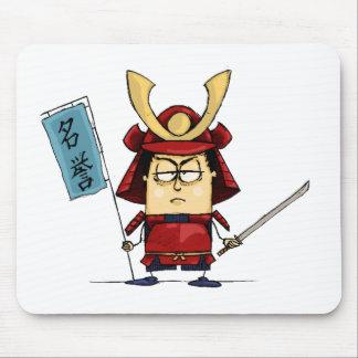 Cojín de ratón del guerrero del samurai mouse pads