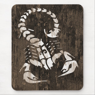 Cojín de ratón del horóscopo del escorpión tapetes de ratones
