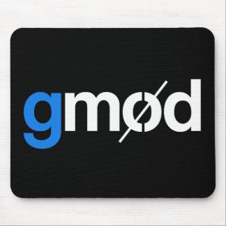 Cojín de ratón del juego del logotipo de Gmod Alfombrillas De Ratón