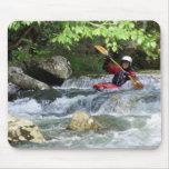 Cojín de ratón del Kayaker Alfombrillas De Raton