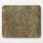 Cojín de ratón del leopardo tapete de raton