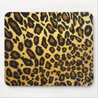 Cojín de ratón del leopardo tapete de ratones