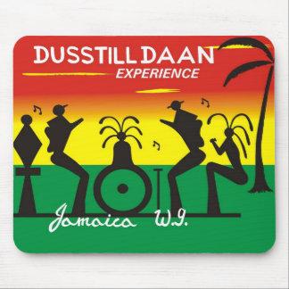 Cojín de ratón del logotipo de Dustilldaan_brand Tapete De Ratones