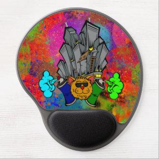 Cojín de ratón del logotipo de la ciudad de PCD Alfombrillas De Raton Con Gel