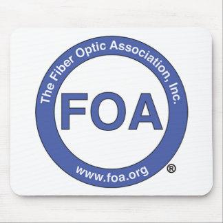 Cojín de ratón del logotipo de la FOA Mousepad
