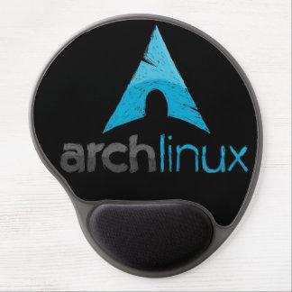 Cojín de ratón del logotipo de Linux del arco Alfombrillas De Ratón Con Gel