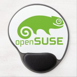 cojín de ratón del logotipo de Linux del openSuzie Alfombrilla De Raton Con Gel
