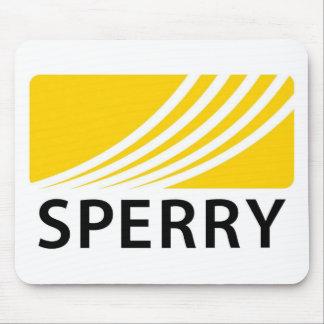 Cojín de ratón del logotipo del carril de Sperry Tapetes De Raton