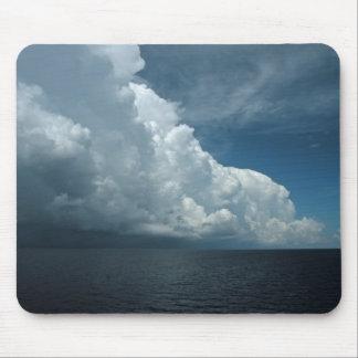 Cojín de ratón del mar y del cielo tapete de raton