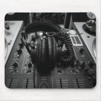 Cojín de ratón del mezclador de DJ Alfombrillas De Raton