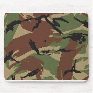 Cojín de ratón del modelo del ejército - amarillo mouse pad
