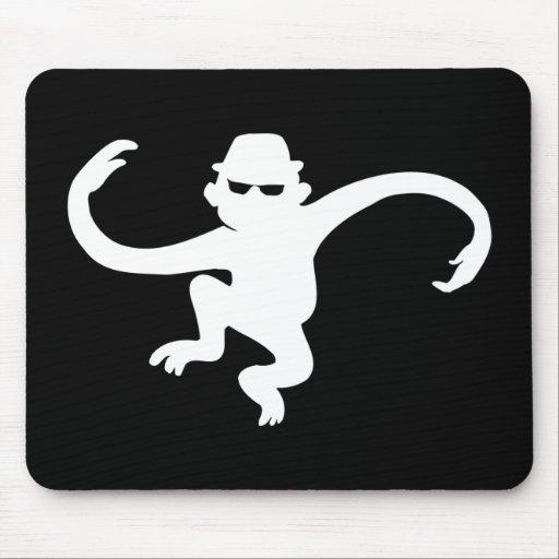 Cojín de ratón del mono tapetes de ratones