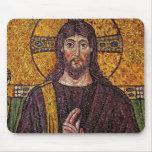 Cojín de ratón del mosaico de Jesús Alfombrilla De Ratones