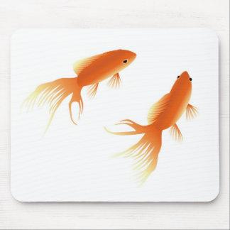 cojín de ratón del mousepad del goldfish alfombrilla de raton