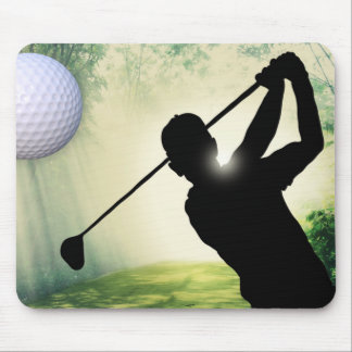 Cojín de ratón del movimiento de golf mousepads