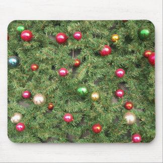 Cojín de ratón del ornamento del navidad alfombrillas de ratones