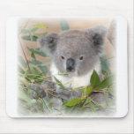 Cojín de ratón del oso de koala tapete de raton