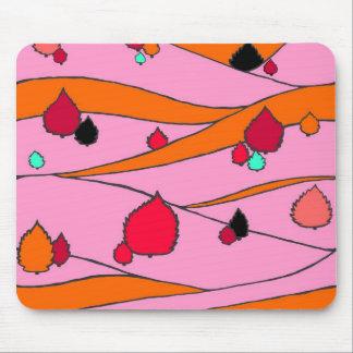 Cojín de ratón del paisaje de las rosas fuertes tapete de ratón