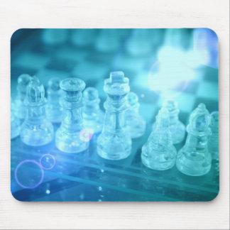 Cojín de ratón del partido del ajedrez tapete de ratón