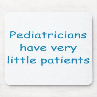 Cojín de ratón del pediatra tapetes de ratones