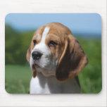Cojín de ratón del perro de perrito del beagle del tapetes de raton